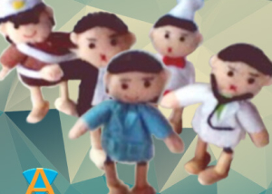 Boneka Doll House Isi 5