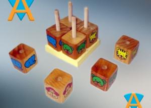 Cube Puzle Binatang Campur